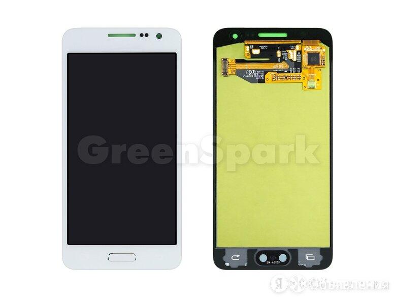 Дисплей для Samsung A300F Galaxy A3 + тачскрин (белый) 100% по цене 4300₽ - Дисплеи и тачскрины, фото 0
