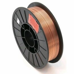 Электроды, проволока, прутки - Проволока сварочная DEKA ER70S-6 0,8 мм по 5 кг в катушке, 0