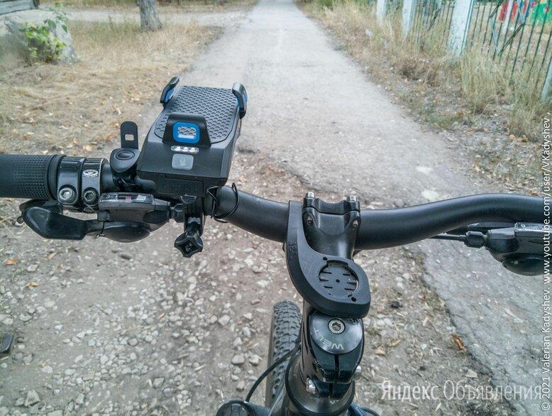 Велофонарь 4 в 1 + громкий гудок + держатель смартфона + повербанк по цене 2200₽ - Фонари, фото 0