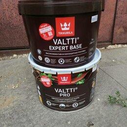 Пропитки - Tikkurila valtti expert base грунтовка  (9л) и Tikkurila valtti Pro лазурь, 0