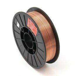 Электроды, проволока, прутки - Проволока сварочная DEKA ER70S-6 1.0 мм по 5 кг в катушке, 0