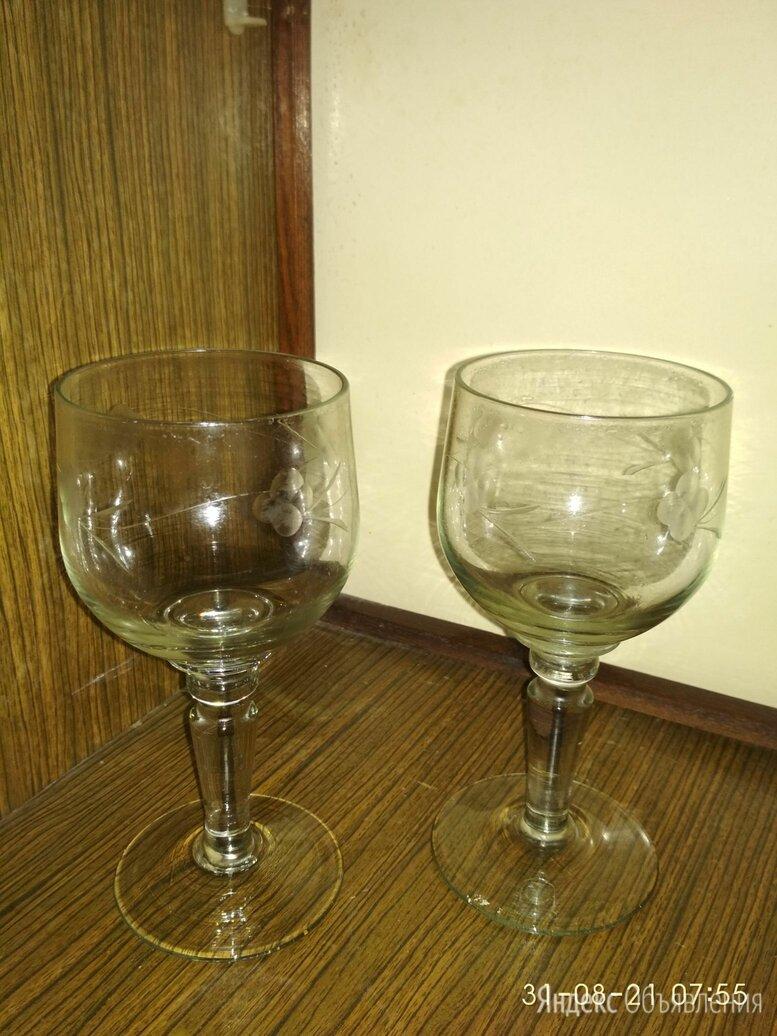 Бокалы для вина 2 шт., 200 мл по цене 130₽ - Бокалы и стаканы, фото 0