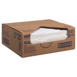Бумажные салфетки, носовые платки - Салфетки протирочные Wypall X70 300 листов, 0