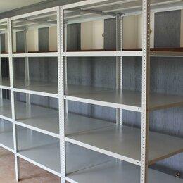 Мебель для учреждений - Стеллаж металлический / Архивный Сборный Складской, 0