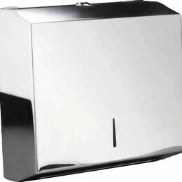 Мыльницы, стаканы и дозаторы - Диспенсер для листовых бумажных полотенец SAVOL S-F6002R, 0