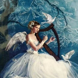 Картины, постеры, гобелены, панно - Фея музыки Артикул : WB 3571, 0