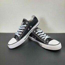 Кроссовки и кеды - Кеды Converse All Star черные А824, 0