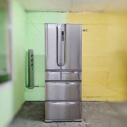 Холодильники - Холодильник Toshiba 6ти дверный металлик, 0