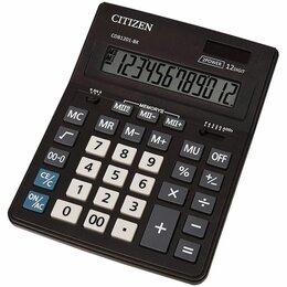 Калькуляторы - Калькулятор  настольный  Citizen Business Line  CDB1201BK  12 раз., 157*200мм, д, 0