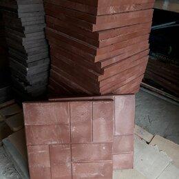 Садовые дорожки и покрытия - Плитка полимерпесчаная 450х450х35, 0