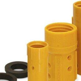 Аксессуары, запчасти и оснастка для пневмоинструмента - Сопло держатель пескоструйный для шланга 25 мм, 0