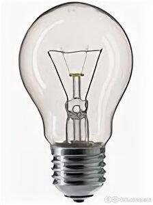 Лампа накал 25Вт груша E27 220В  прозр Лисма (100/154) по цене 14₽ - Лампочки, фото 0