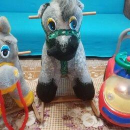Каталки и качалки - Качалка лошадь + машина толокар , 0
