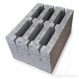 Строительные блоки - Керамзитобетонный блок 190х188х390 вент, 0