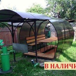 Комплекты садовой мебели - Беседки из поликарбоната для дачи и дома, 0