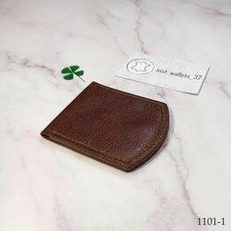 Кошельки - Лёгкий бумажник из натуральной кожи, 0
