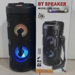 Портативная акустика - Беспроводная колонка bt speaker zqs 4210, 0