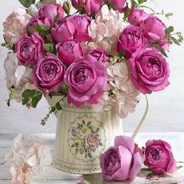 Дизайн, изготовление и реставрация товаров - Букет розы и гортензия Артикул : ES 1008, 0
