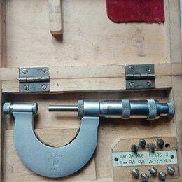 Измерительные инструменты и приборы - Микрометр-резьбомер, 0