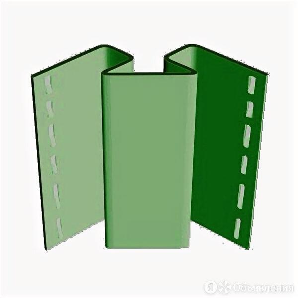 Внутренний угол FineBer Plus Зеленый 3,05м(уп.10шт по цене 795₽ - Сайдинг, фото 0