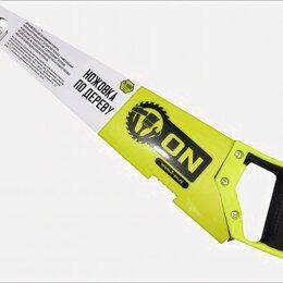 Пилы, ножовки, лобзики - 3-ON Ножовка по дереву, 2-х сторонняя заточка, закаленный зуб 8 мм, 500 мм, 0..., 0