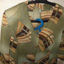 Блузки и кофточки - Комплект (темно-оливковый), 0