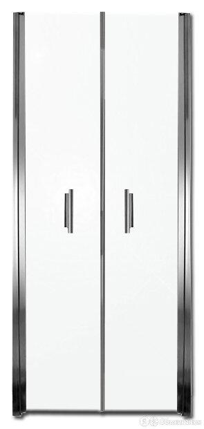 Дверь в нишу Jacob Delafon Contra 80 см E22B80-GA профиль хром, стекло прозра... по цене 42040₽ - Входные двери, фото 0