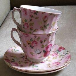 Кружки, блюдца и пары - Чайная пара фарфор, 0