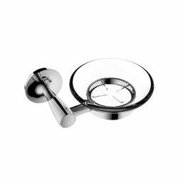 Мыльницы, стаканы и дозаторы - Стеклянная мыльница RUSH Balearic, 0