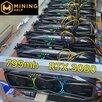 Ферма для майнинга 795mh RTX 3080 по цене 1640000₽ - Видеокарты, фото 0