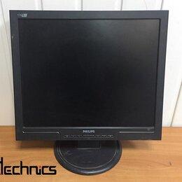 """Мониторы - Монитор с дефектом ЖК 17"""" 5:4 Philips 170S7 черный, 0"""