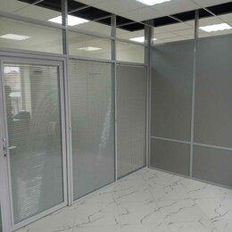 Межкомнатные двери - Офисные перегородки из стекла и алюминия, 0