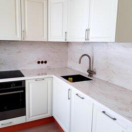 Комплектующие - Столешница с кухонным фартуком из искусственного камня Corian, 0