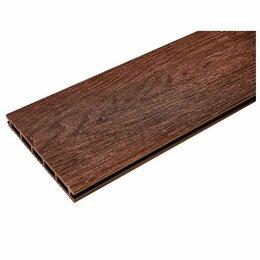 Древесно-плитные материалы - Доска террасная Qiji Premium 3000x150x18мм шоколад, 0