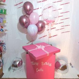 Воздушные шары - Коробка - сюрприз с воздушными шарами , 0