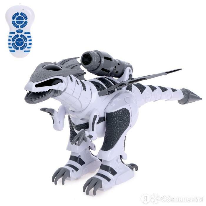 Робот радиоуправляемый «Тирекс», световые и звуковые эффекты, работает от акк... по цене 5423₽ - Радиоуправляемые игрушки, фото 0