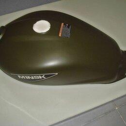 Запчасти  -  Запчасти для мопеда Минск M1NSK d4 50 » Бак топливный цвет матовый зеленый, 0