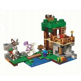 Игровые наборы и фигурки - Конструктор My World 10989 (463 дет.), 0