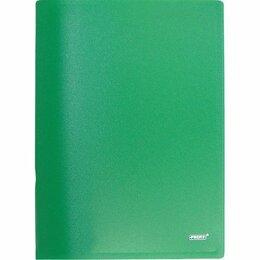 Упаковочные материалы - Папка с зажимом  Proff Next + карман, зеленая 0.6мм (6/60), 0