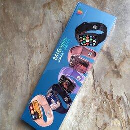 Умные часы и браслеты - Часы Smart Watch M16 Mini, 0