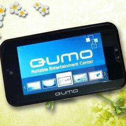 ТВ-приставки и медиаплееры - Карманный медиаплеер qumo с экраном 4,3 дюйма, 0