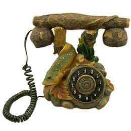 """Проводные телефоны - Телефон """"Рыбка"""" стационарный 20*18*13 см., 0"""