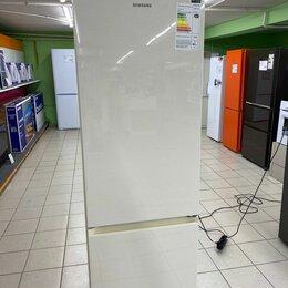 Холодильники - Холодильник с морозильником SAMSUNG RB36T604FEL/WT, 0