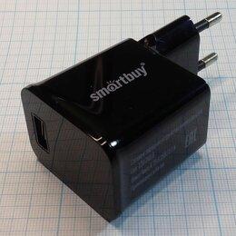 Зарядные устройства и адаптеры питания - Мощная USB-зарядка Адаптер Зарядное устройство SmartBuy 2.1А, 0