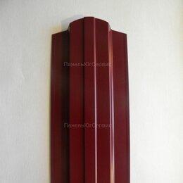 Заборы, ворота и элементы - Металлический штакетник Красный, 0