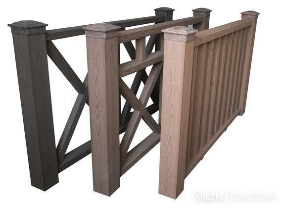 Ограждения из дпк для беседок, террас и балконов. по цене 3400₽ - Заборы, ворота и элементы, фото 0