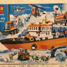 Конструкторы - Конструктор city арктический ледокол 10443, 0
