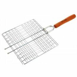 """Решетки - Решетка-гриль малая 4 секции 23х20cm """"ROYALGRILLl"""" (80-017), 0"""
