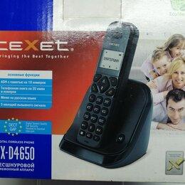 Радиотелефоны - Аппарат телефонный texet бесшнуровой, 0