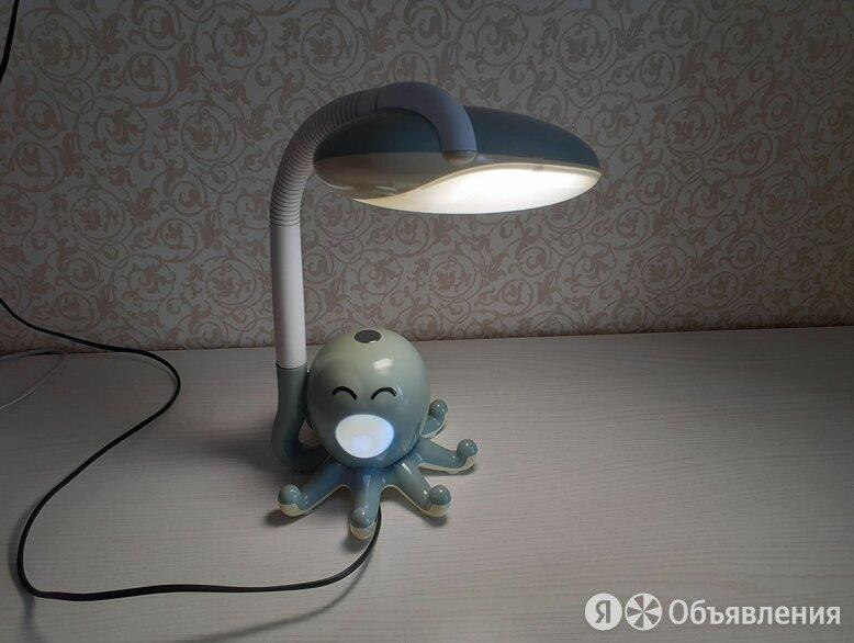 """Детская Настольная Лампа + Ночник """"Осьминог"""" по цене 600₽ - Настольные лампы и светильники, фото 0"""